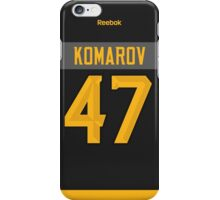 Toronto Maple Leafs Leo Komarov NHL All-Star Black Jersey Back Phone Case iPhone Case/Skin