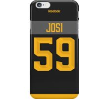 Nashville Predators Roman Josi NHL All-Star Black Jersey Back Phone Case iPhone Case/Skin