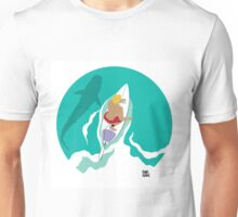 From Above: Surfer Dude Unisex T-Shirt