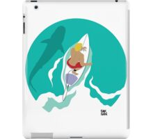 From Above: Surfer Dude iPad Case/Skin