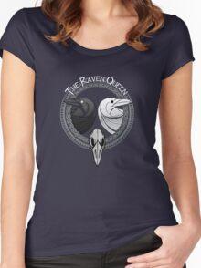 D&D Tee - Raven Queen Women's Fitted Scoop T-Shirt