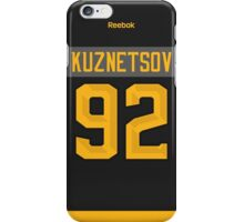 Washington Capitals Evgeny Kuznetsov NHL All-Star Black Jersey Back Phone Case iPhone Case/Skin