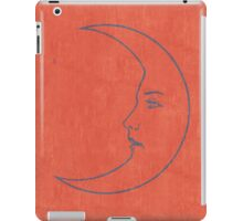 La Luna - Tarot Card in Red iPad Case/Skin