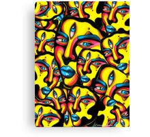 Gemini - Psychedelic Print  Canvas Print