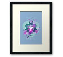 Zanac Framed Print