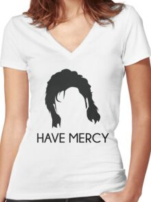 Have Mercy! - Uncle Jessie - Full House Women's Fitted V-Neck T-Shirt