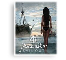 """Sail Out"" EP Cover (2013) Canvas Print"
