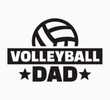 Volleyball dad by Designzz