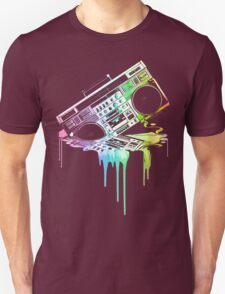 Melting Boombox (vintage distressed look) T-Shirt