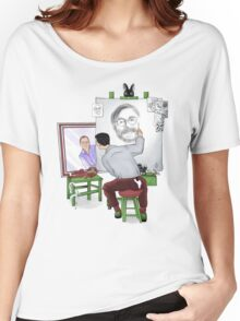 Animator self portrait Women's Relaxed Fit T-Shirt