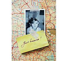 Elena Green - Just Because Photographic Print