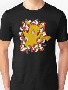 Pikachu - Pokeball Beauty T-Shirt