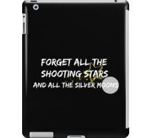 For Him lyrics white iPad Case/Skin