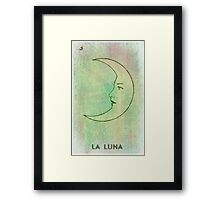La Luna - The Moon - Tarot Framed Print