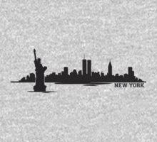 New York Skyline Kids Clothes