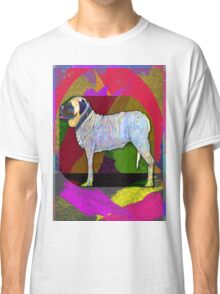 Mastiffically Colorful Classic T-Shirt