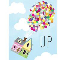 Up - Minimalist Poster Photographic Print