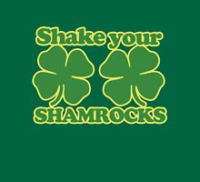 Shake your shamrocks  Womens Fitted T-Shirt