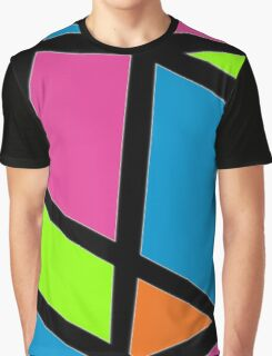Geometric Colours Graphic T-Shirt