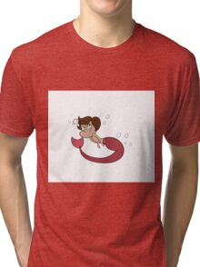 Mermaid Romano Tri-blend T-Shirt
