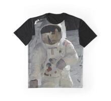 Moon Walk - Apollo Astronaut Graphic T-Shirt