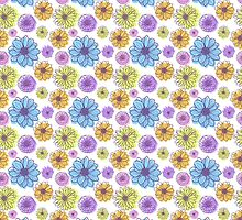 Flowers pattern by moryachok