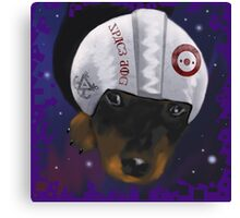 Space Dog - inspired by @luna_89ema Canvas Print