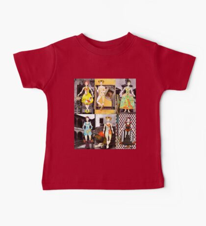 Paper Doll Fashion Fairytale Collection Baby Tee