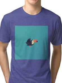 Toucan 3 (Airbrush) Tri-blend T-Shirt