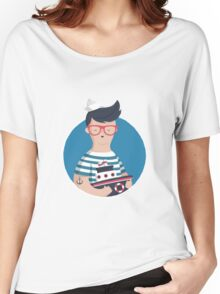 Funny Sailor Women's Relaxed Fit T-Shirt