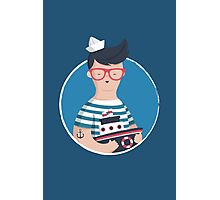 Funny Sailor Photographic Print