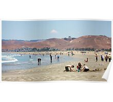 morro bay is cold Poster