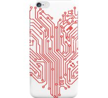 Circuit Heart  iPhone Case/Skin