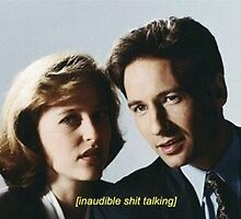 Mulder and Scully  by Emily Blair