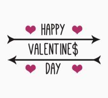 Happy Valentine$ Day - Black Kids Clothes