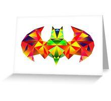Batman Colour Blast Greeting Card