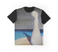 SURREALISM - Lonely At The Beach Graphic T-Shirt