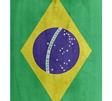 Flag Brazil by WAMTEES