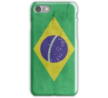 Flag Brazil iPhone Case/Skin