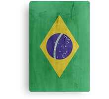 Flag Brazil Canvas Print
