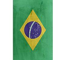 Flag Brazil Photographic Print