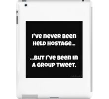 Twitter Hostage iPad Case/Skin