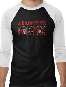 Droppin' Science Men's Baseball ¾ T-Shirt