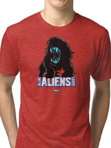 Attack THe Block Alien Tri-blend T-Shirt