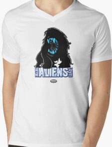 Attack THe Block Alien Mens V-Neck T-Shirt