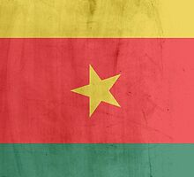 Flag cameroon by WAMTEES