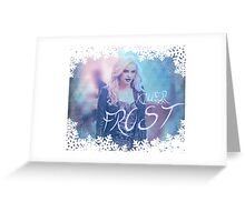 Killer Frost from The Flash Greeting Card