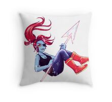 Undertale - Undyne Throw Pillow