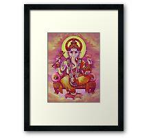 Ganapati Ganesha Framed Print