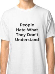 Hate- Superman Classic T-Shirt